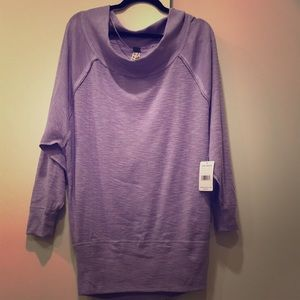 f3d14e46112140 Free People Tops - Free People Palisades Off the Shoulder Lilac Dust